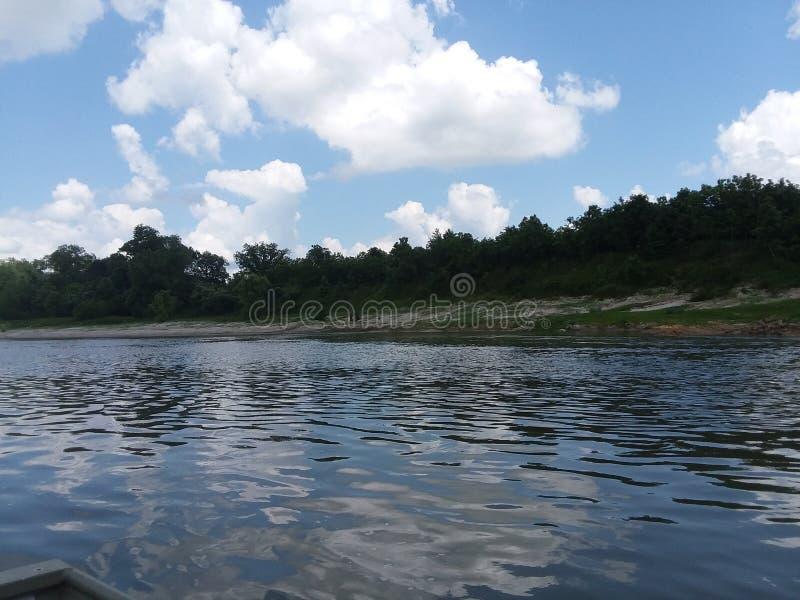 Der Trinity Fluss stockfoto