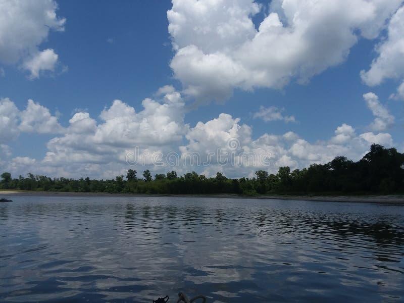 Der Trinity Fluss stockfotografie