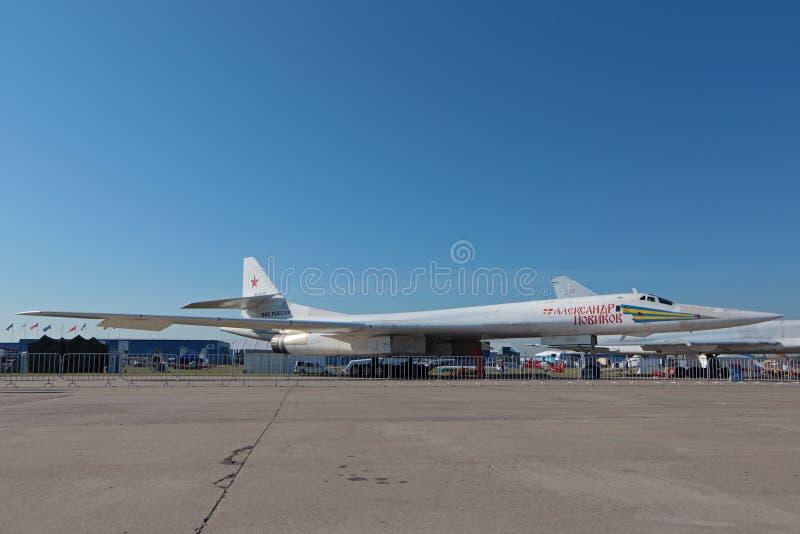 Der Tupolev Tu-160 lizenzfreies stockfoto