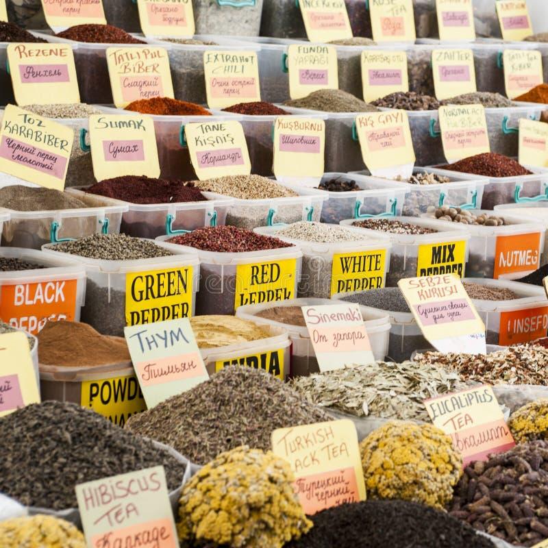 Der Turgutris-Markt in der Türkei stockbilder