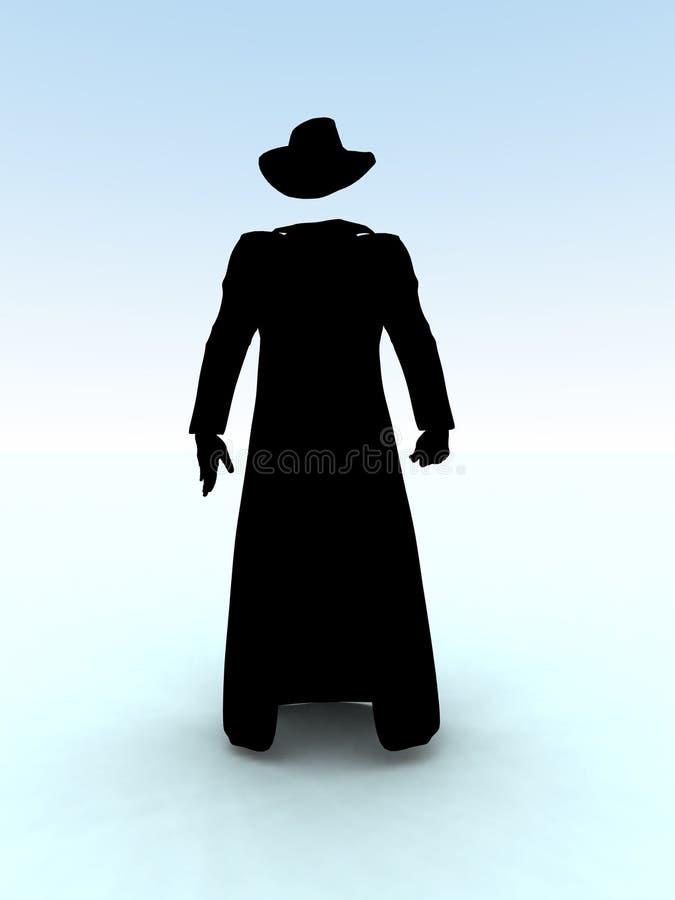Der unsichtbare Mann 53 stock abbildung