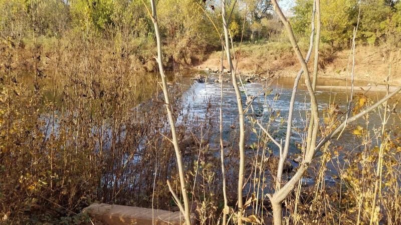 Der ursprüngliche Wichita-Wasserfall lizenzfreies stockfoto