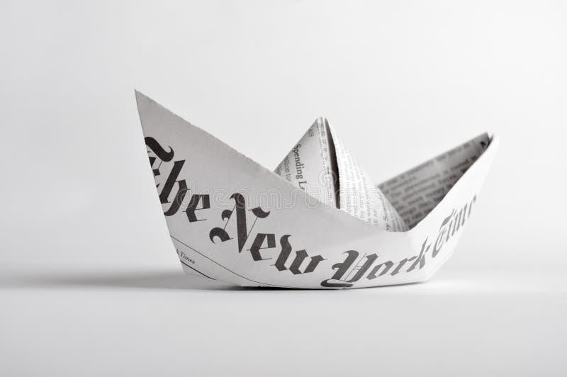 Der vektorentwurf des Herstellungspapierplans - origami lizenzfreie stockfotografie