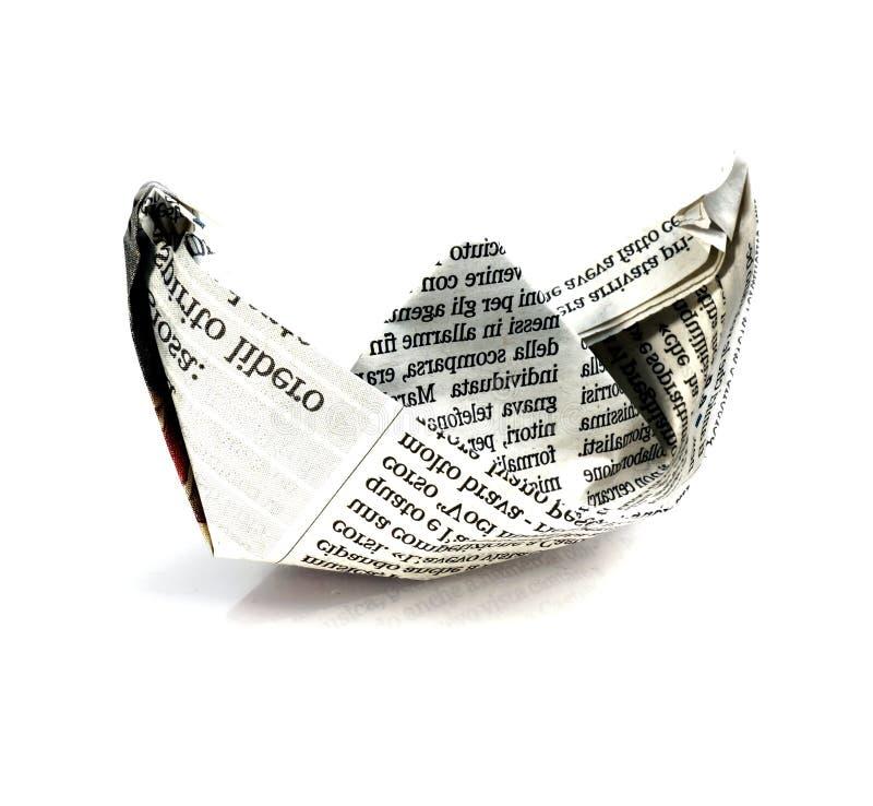 Der vektorentwurf des Herstellungspapierplans - origami lizenzfreies stockfoto