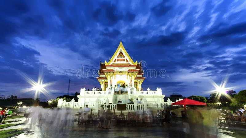 Der vesak Tag in Thailand stockbilder