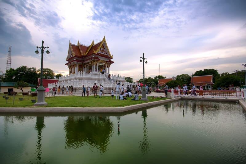 Der vesak Tag in Thailand lizenzfreie stockfotos