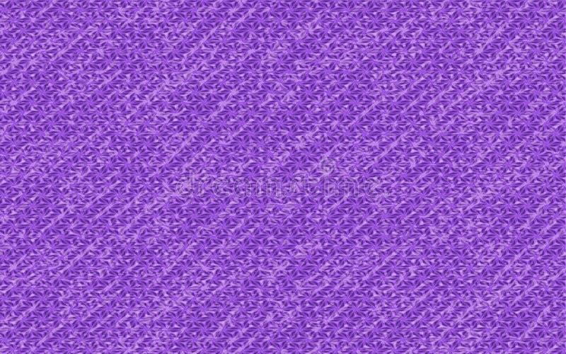 Der violette Regen abstrakter strukturierter violetter Hintergrund stock abbildung