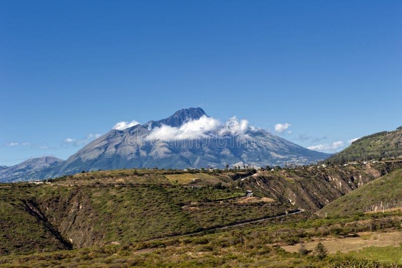 Der Vulkan von Imbabura lizenzfreies stockbild