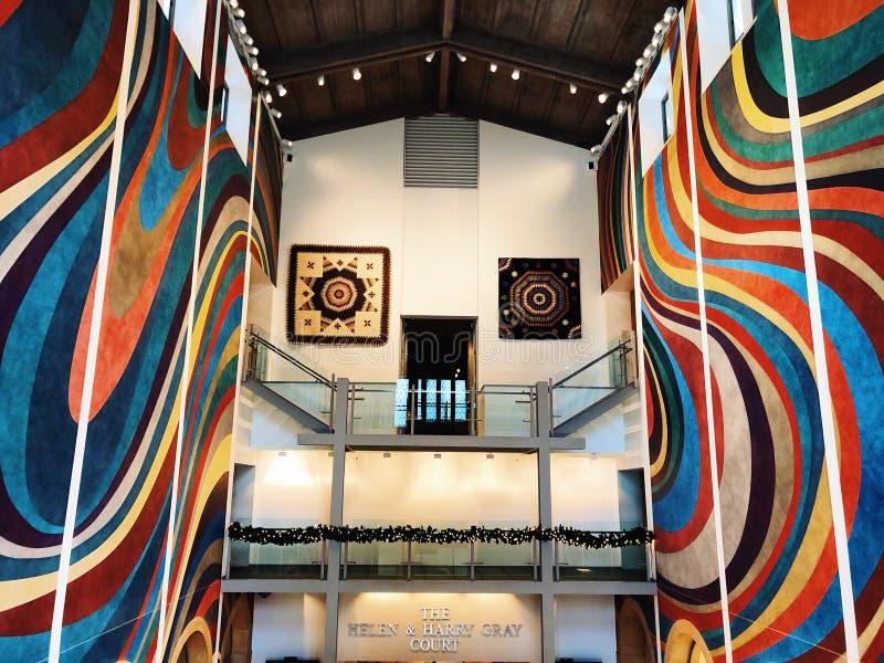 Der Wadsworth-Atheneum-Kunstmuseuminnenraum stockfotos