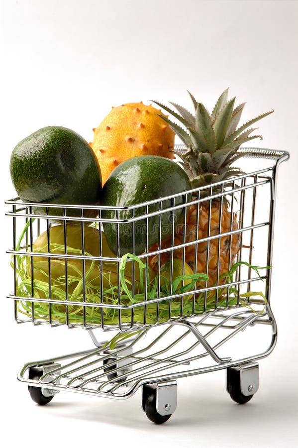 Der Wagen von Frucht 2 stockfoto