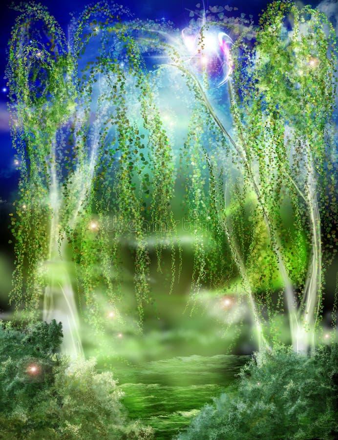 Der Wald stock abbildung