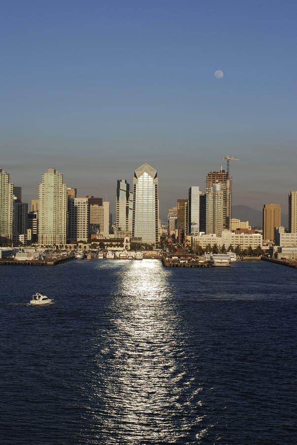 Der Wasser-Pfad nach San Diego stockfoto