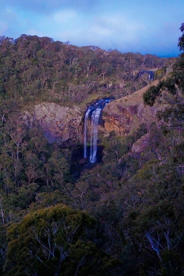 Der Wasserfall stockfotografie
