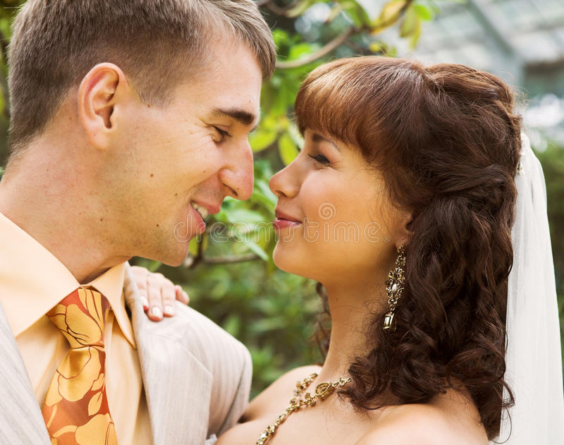 Der Weg der Jungvermählten lizenzfreie stockbilder