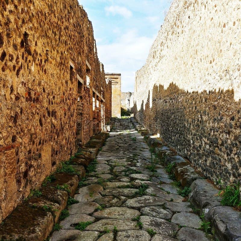 Der Weg von Gladiatoren stockfotografie
