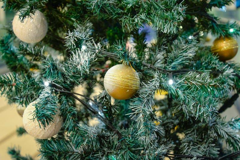 Der Weihnachtsbaum stockfoto