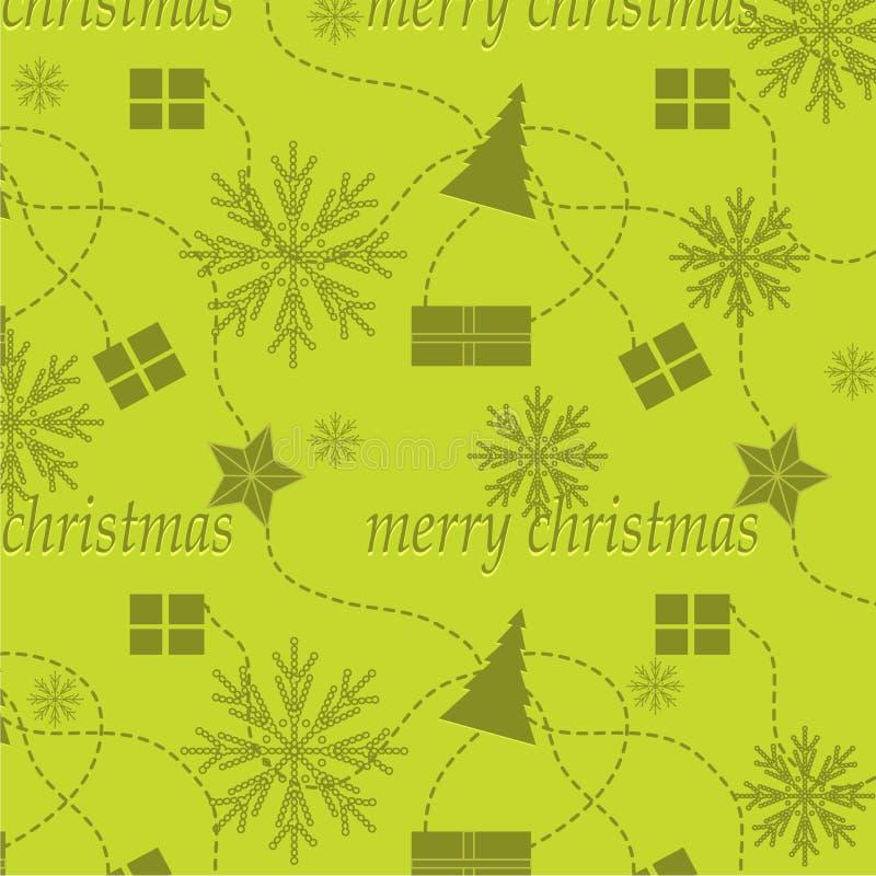 Der Weihnachtshintergrund vektor abbildung