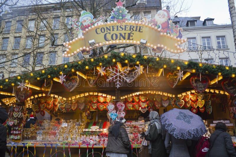 Der Weihnachtsmarkt In Luxemburg Redaktionelles