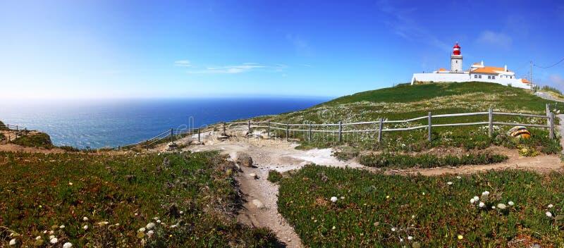 Der westlichstepunkt von Europa, Cabo DA Roca, Portugal lizenzfreie stockfotografie