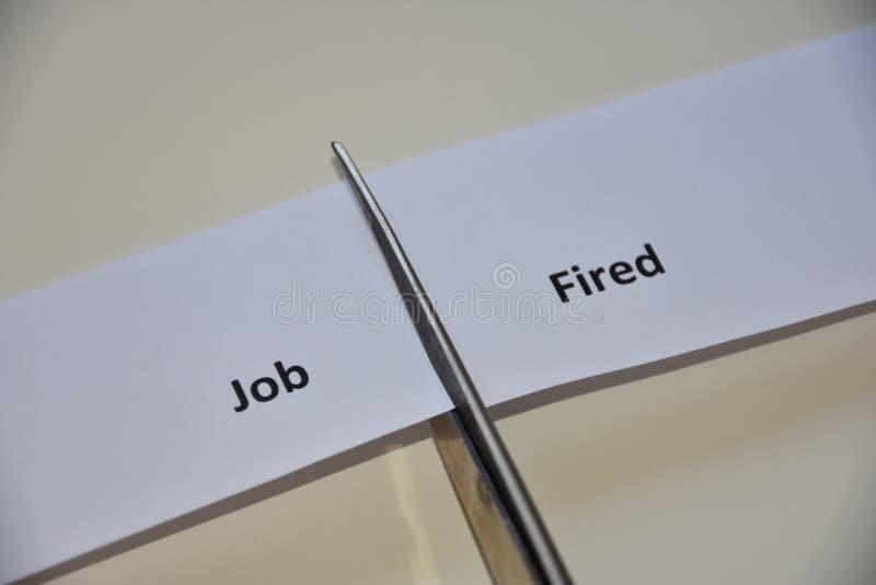 Der Widerspruch zwischen zwei Entscheidungen stockfotografie