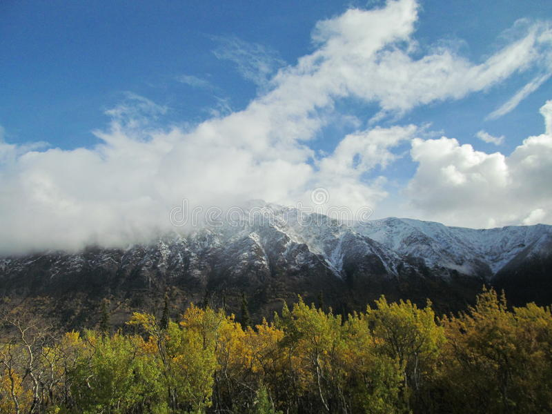 Der Yukon-Himmel lizenzfreies stockbild