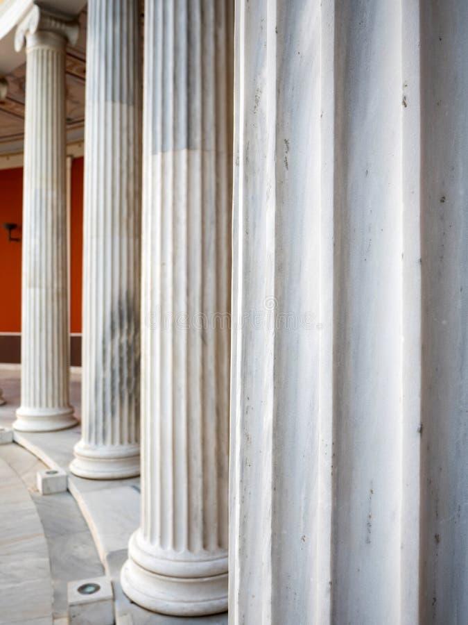 Der Zappeion Hall in Athen stockbilder