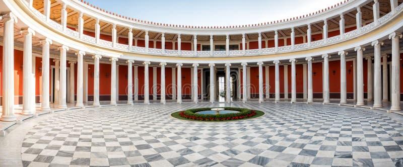 Der Zappeion Hall in Athen lizenzfreie stockbilder