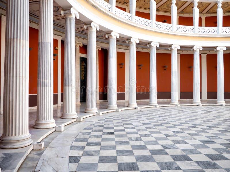 Der Zappeion Hall in Athen lizenzfreie stockfotos