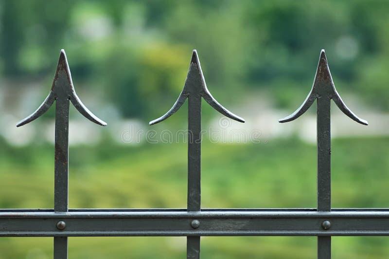 Der Zaun lizenzfreie stockfotografie