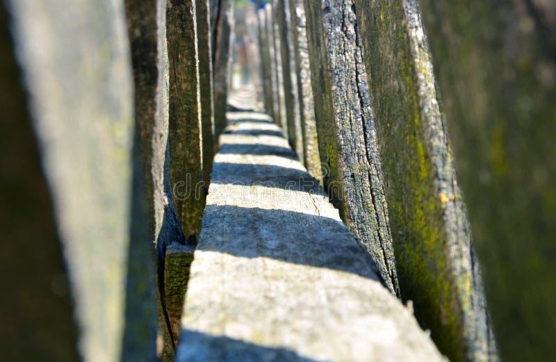 Der Zaun Die Lebensart stockfotos