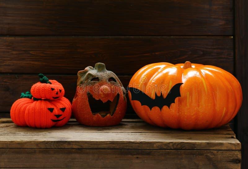 Der Zusammensetzungsdekor für Halloween lizenzfreies stockbild