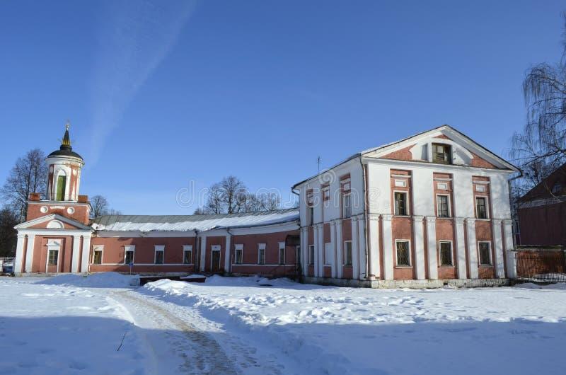 Der Zustand in Yaropolets nahe Volokolamsk, besessen durch Zagryazhsky, das zweimal durch Pushkin besucht wurde lizenzfreies stockfoto