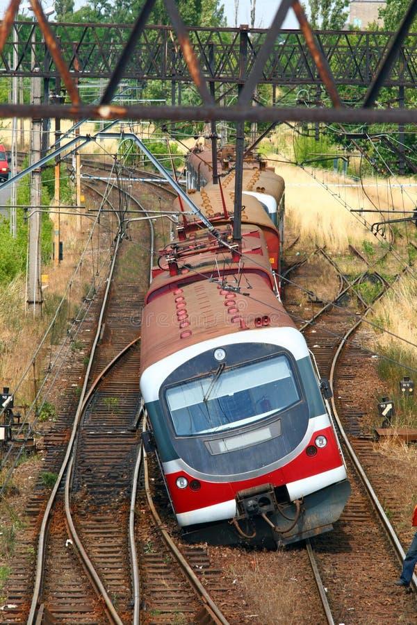 derailed поезд стоковая фотография rf