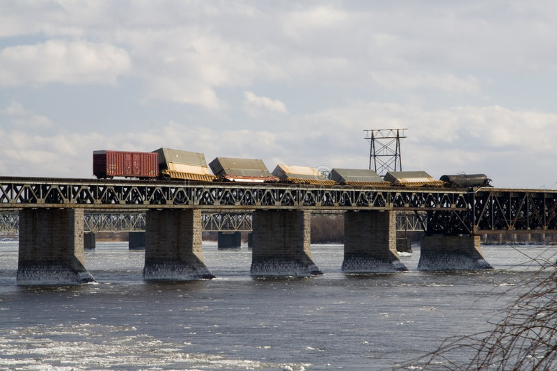 Download Derailed Train stock photo. Image of montreal, pacific - 3012206