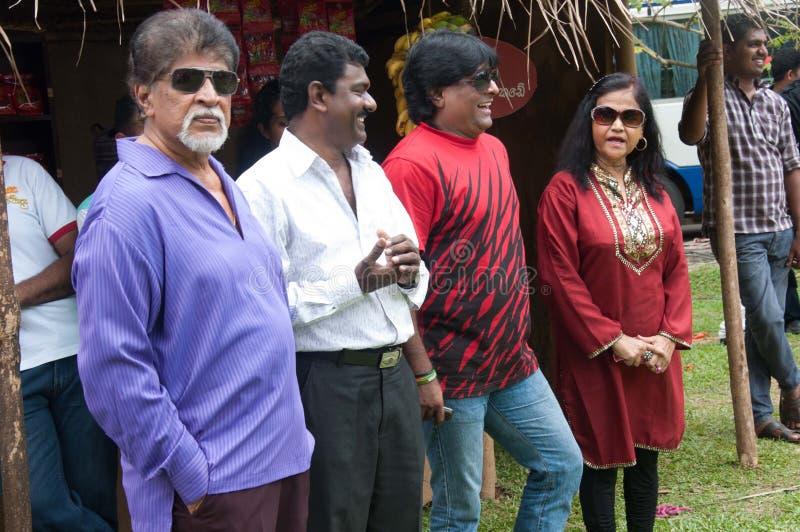 Derana Kalagame Aurudu lizenzfreie stockfotos