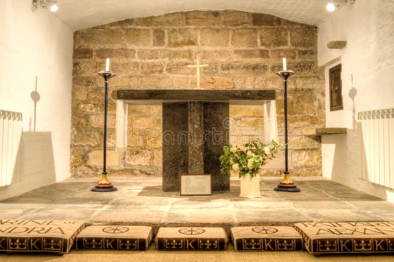 Derby Cathedral Saint Katharines Chapel HDR imagem de stock royalty free