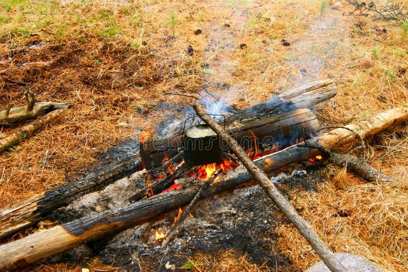 Download Derby Sui Fuochi Di Accampamento Fotografia Stock - Immagine di alimento, firewood: 30829782
