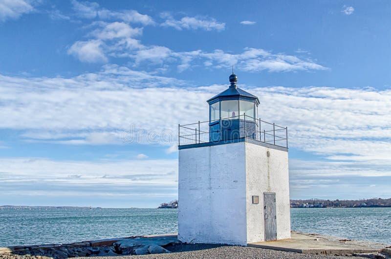 Derby Wharf Lighthouse fotografia stock