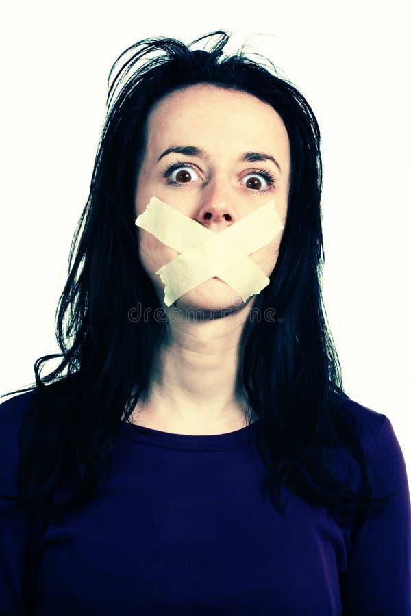 Derechos humanos - libertad de expresión foto de archivo libre de regalías