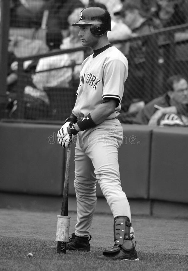Derek Jeter photos libres de droits
