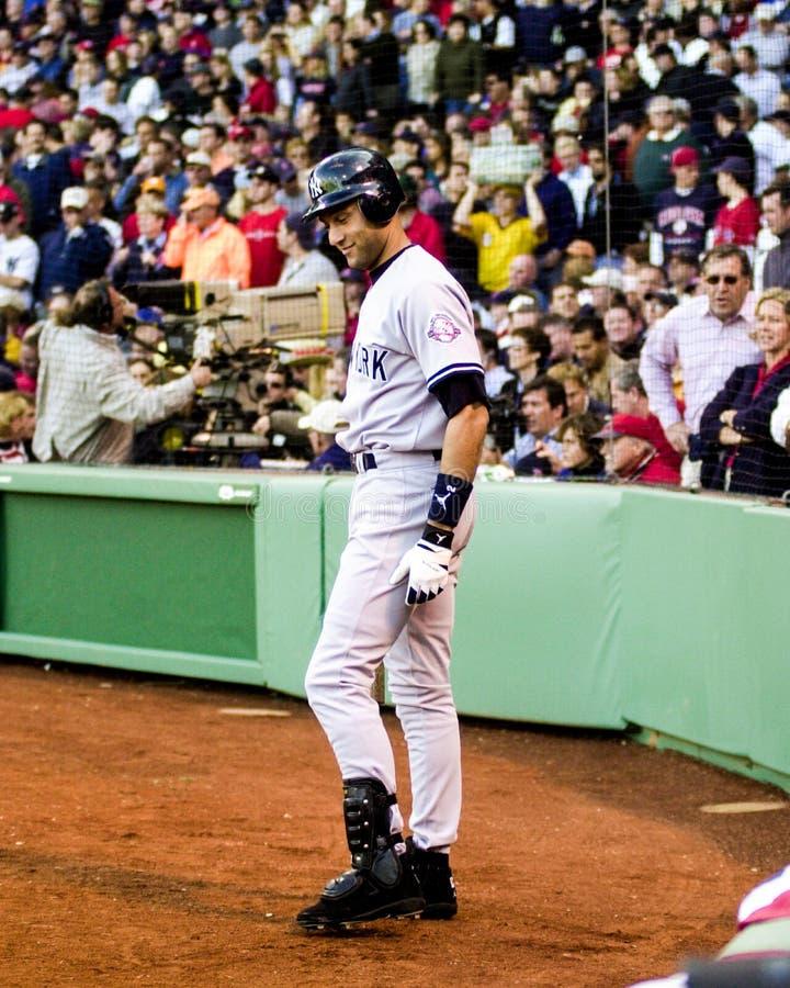 Derek Jeter, Yankees de New York photo stock