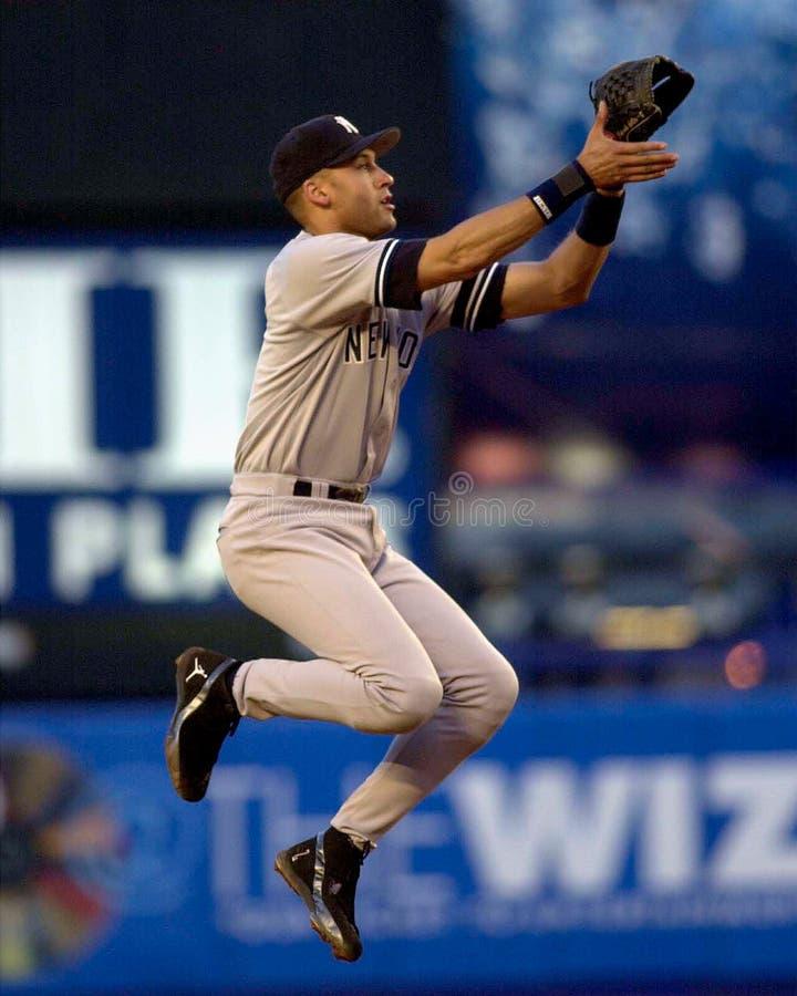 Derek Jeter, Yankees de New York photos libres de droits
