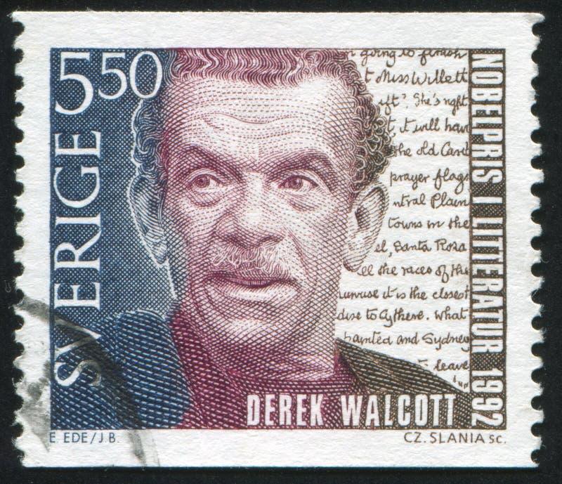 Derek Walcott royalty-vrije stock foto