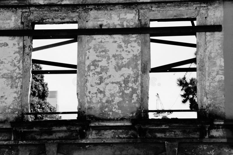 derelict здания стоковое изображение rf