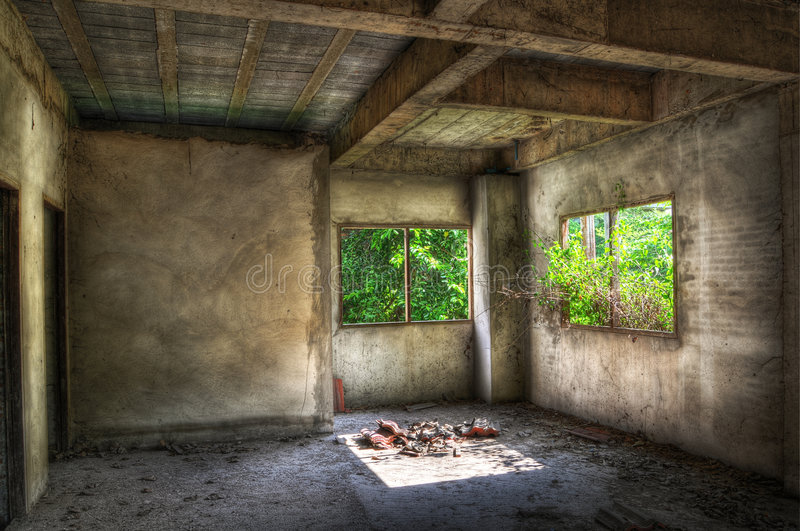 Derelict stock photography