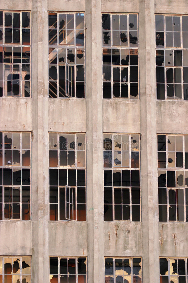 Download Derelict Building 2 stock photo. Image of glass, beaten - 47560