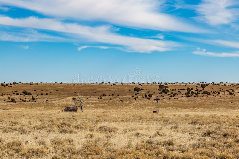 A Rural New Mexico Landscape stock images
