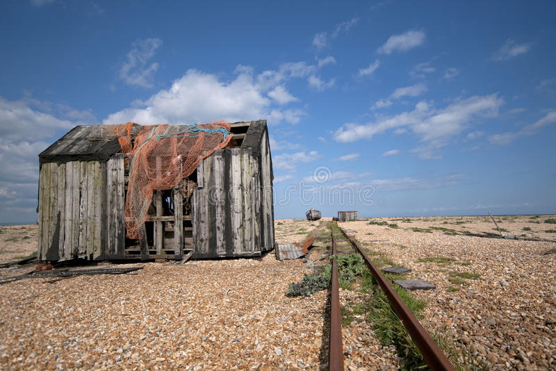 Derelict shed royalty free stock photos