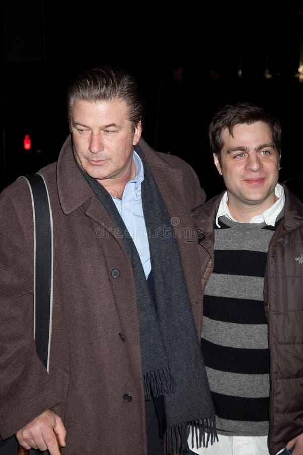 Derick Мартини и Alec Baldwin (l) стоковые фото