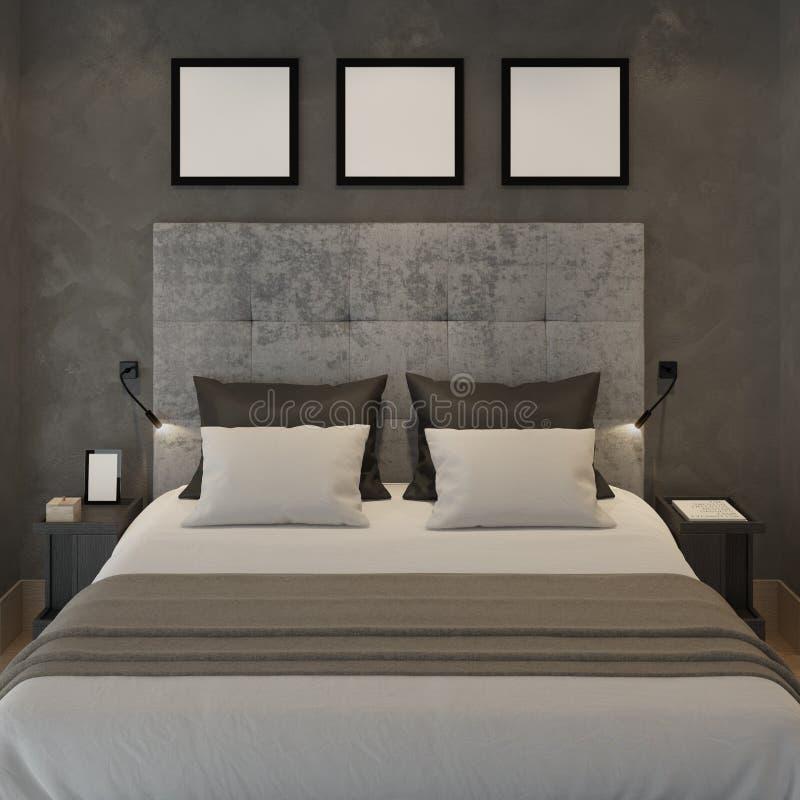 Parete Camera Da Letto Grigia : Parete grigia camera da letto stunning velature with